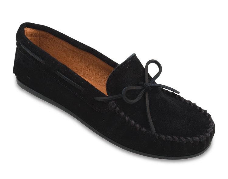 b914366c4 Мокасины мужские классика - цвет черный, замша / 919